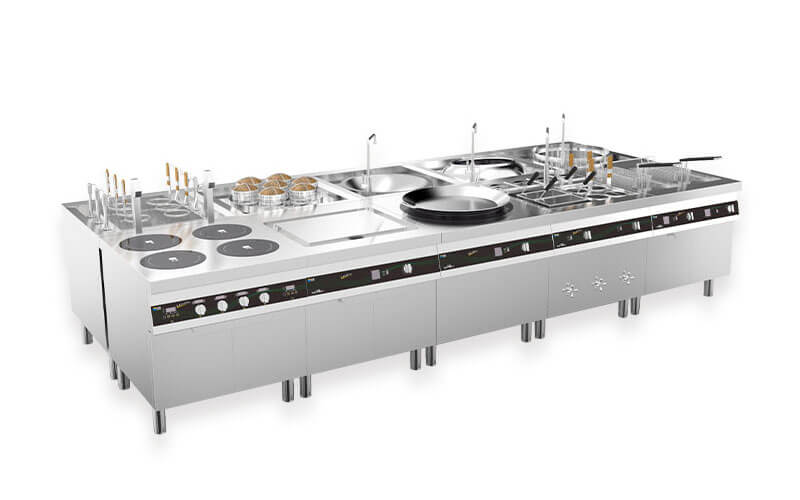 Lestov induction cooktop
