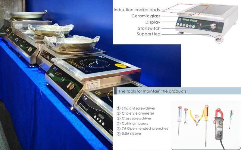 Common Troubleshooting Solutions for 220v Induction Cooktops