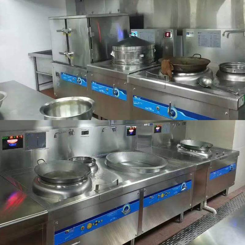 Kitchen equipment: Lestov induction cooktops