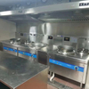 Custom Combined Induction Stove Commercial for Restaurant Appliance