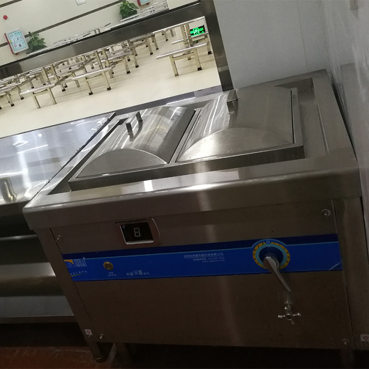 Commercial Induction Vermicelli Roll / Rice Flour Steamer for Guangdong dishes