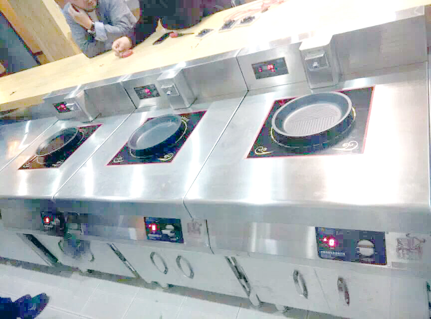 commercial induction ranges