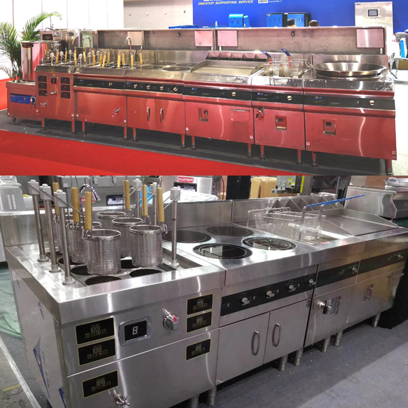 Commercial Induction Griddle Timer And Temperature Control