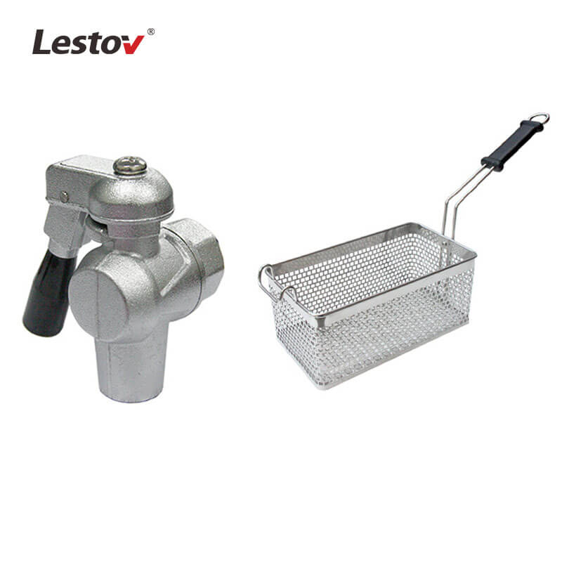 Commercial Tabletop Induction Deep Fryer with thermostat