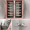 12 Trays Cabinet Single Door Commercial Induction Rice Steamer