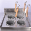 Four Holes Stainless Steel Tabletop Induction Pasta Cooker