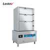 Three Doors Commercial Induction Seafood Steamer Cabinet