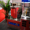 Large Volume Single Burner Induction Soup Cooker With Glass